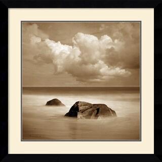 Alan Klug 'Seascape III' Framed Art Print