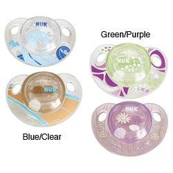 NUK Design OrthoStar Advanced Orthodontic Pacifiers (Pack of 2)