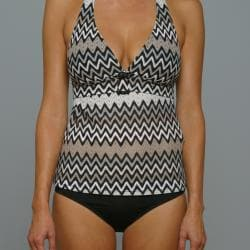 Perry Ellis Swim Women's 'Point Taken' Tankini