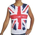 Miss Popular Women's Union Jack Boxy Tank Top