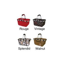 JanetBasket Collapsible Large Aluminum-Frame Basket