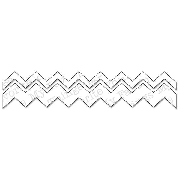 Die-Namics Die-Chevron Stripes