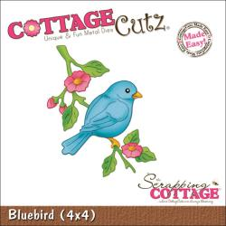 "CottageCutz Die 4""X4""-Bluebird"