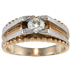 14k Gold 3/5ct TDW Estate Ring (H-I, VS1-VS2)