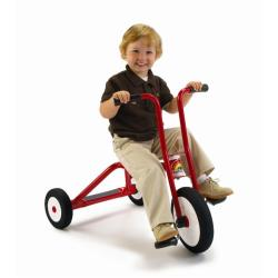 Italtrike Speedy Medium 12-inch Commercial Quality Red Tricycle