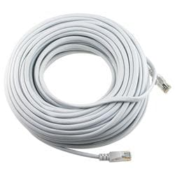 100-foot CAT 5E White Ethernet Cable (Pack of 2)