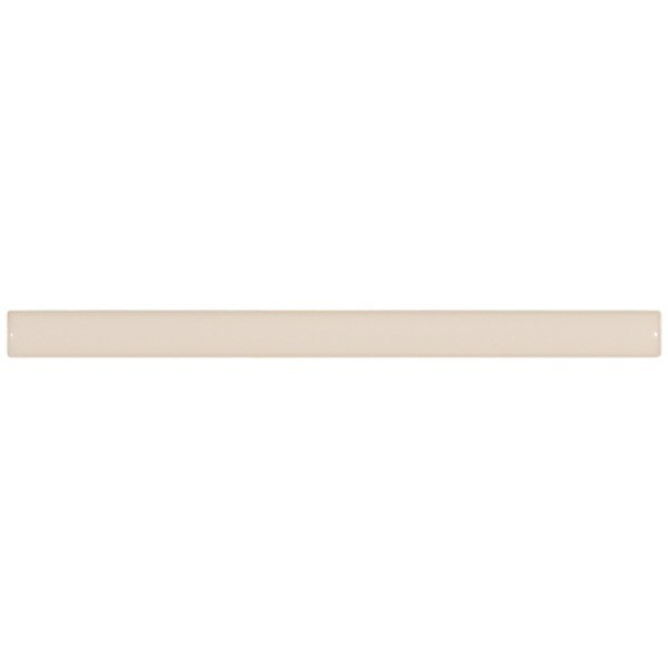 SomerTile 3/8x5 7/8-in Travessa Blanco Ceramic Stick Trim Tile (Pack of 8)