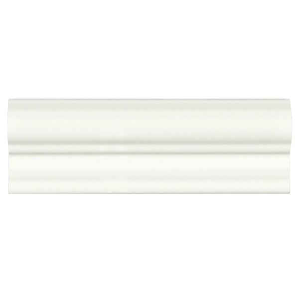 Somertile 2x5 15 16 inch travessa blanco ceramic moldura for 16 inch floor tile
