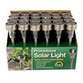 Outdoor Garden Stainless Steel Solar Lights (Set of 24)
