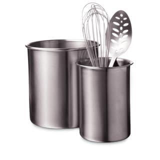 Amco HW Large Stainless Steel Utensil Holder