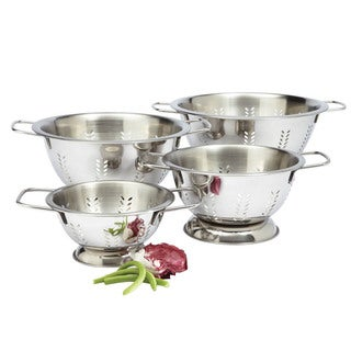 Amco 6-quart Stainless Steel Colander