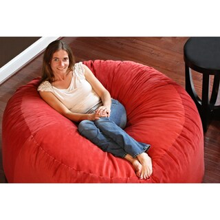 Gold Medal Comfort Cloud 5-foot Foam Bean Bag