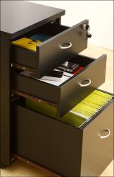 Furniture of America Basis 3-drawer Rolling File Cabinet
