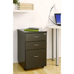Basis 3-drawer Rolling File Cabinet