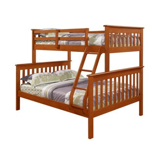 Mission Twin / Full Bunk Bed in Espresso