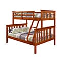Donco Kids Mission Twin / Full Bunk Bed in Espresso