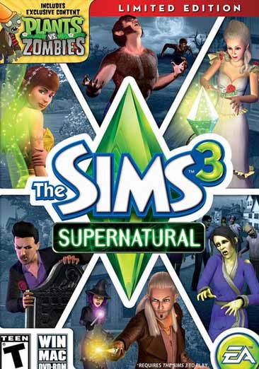 PC - The Sims 3 Supernatural Limited Edition