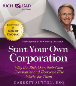 Start Your Own Corporation: Includes Pdf of Companion Files (CD-Audio)