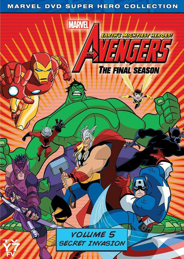 Avengers: Earth's Mightiest Heroes! Vol. 5: Secret Invasion (DVD)