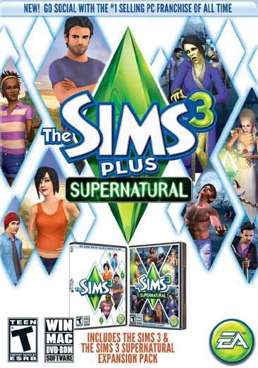PC - Sims 3 Plus Supernatural