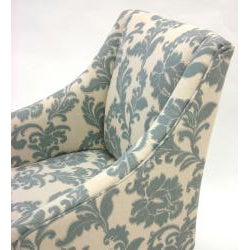 iKat Slate Fabric Accent Chair