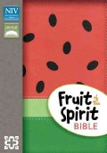 Holy Bible: New International Version, Watermelon Italian Duo-Tone, Fruit of the Spirit (Paperback)