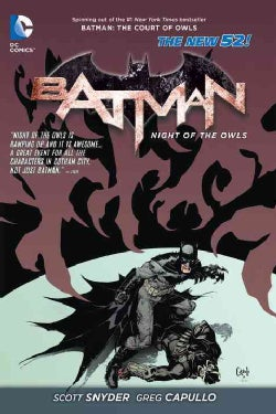 Batman: The Night of the Owls (The New 52) (Hardcover)