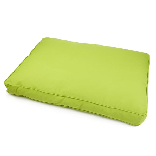 Sweet Dreams Indoor/ Outdoor Green Sunbrella Fabric Pet Bed