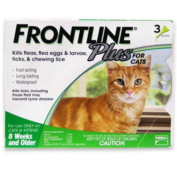 Frontline Plus for Cats (3-pack)