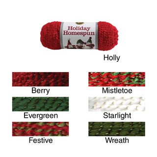 Holiday Homespun Yarn
