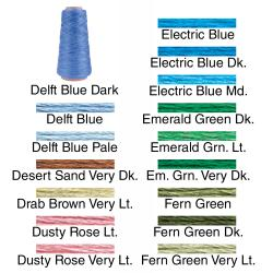 Dark Delft Blue DMC Six Strand Embroidery Cotton 100 Gram Cone