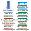 Dark Delft Blue DMC Six Strand Embroidery Cotton 100 Gram Cone