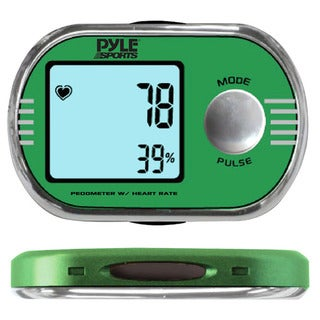 Pyle PPDE60 Pedometer with ECG Finger Touch