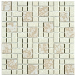 Somertile Academy Bone Floor and Wall Tile (Case of 10)