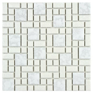Somertile Academy White Floor and Wall Tile (Case of 10)