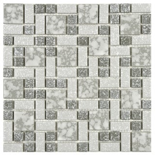 Somertile Academy Light Grey Floor and Wall Tile (Case of 10)