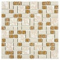 Somertile Academy Beige Floor and Wall Tile (Case of 10)