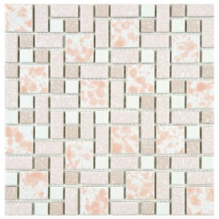 Somertile Academy Pink Floor and Wall Tile (Case of 10)