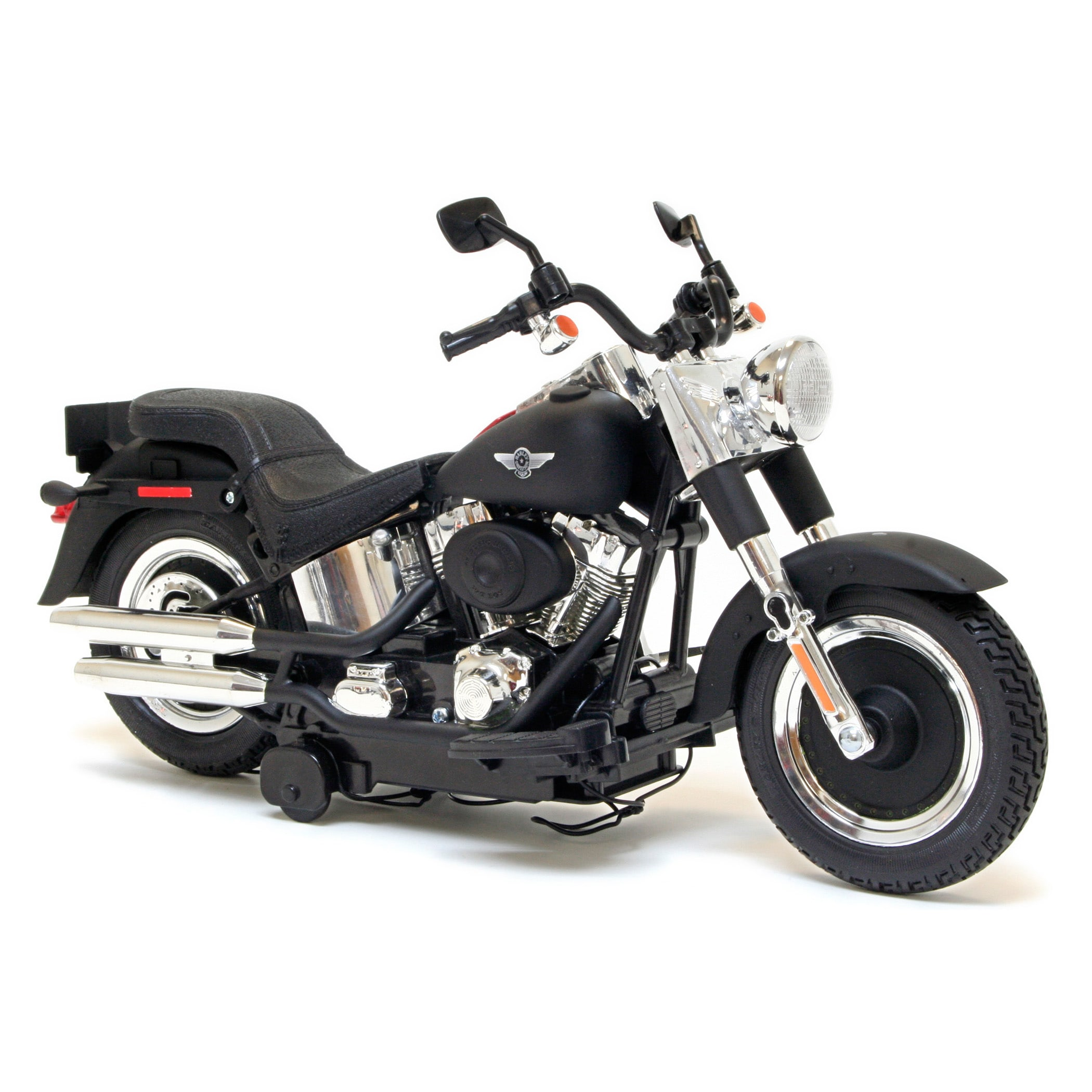 Harley Davidson Battery Operated Fat Boy Rev and Go Motorcycle