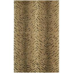Nourison Hand-Tufted Dimensions Multicolor Animal-Patterned Rug (5' x 8')