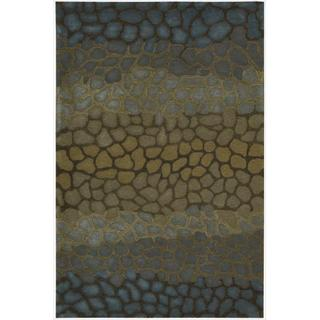 Nourison Hand-tufted Dimensions Multicolor Rug (5' x 8')