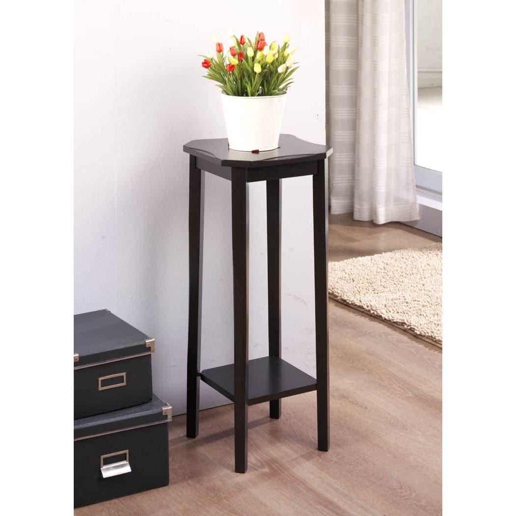 Cappuccino Cherry Veneer 28 inch Plant Stand