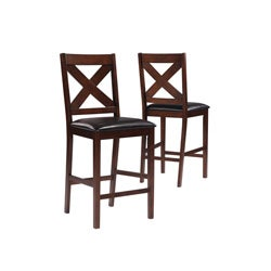 Mocha 41 inch high Counter Height Stool / 2 Pieces per Carton