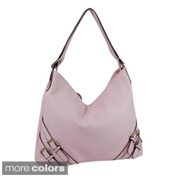 Dasein A-frame Belted Accent Hobo Bag