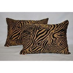 Sherry Kline Jungle Zebra Boudoir Pillow (Set of 2)