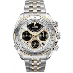 Citizen Signature Eco-Drive Flyback Mens Watch