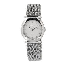 Skagen Women's Stretch Mesh Stainless Steel Watch