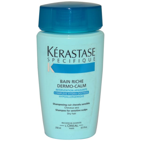 Kerastase Specifique Bain Riche Dermo-Calm Sensitive Scalp 8.5-ounce Shampoo