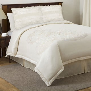 Lush Decor La Sposa Ivory 4-piece King/Cal King-size Comforter Set