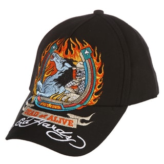 Ed Hardy Boys' 'Horse Embroidery' Hat